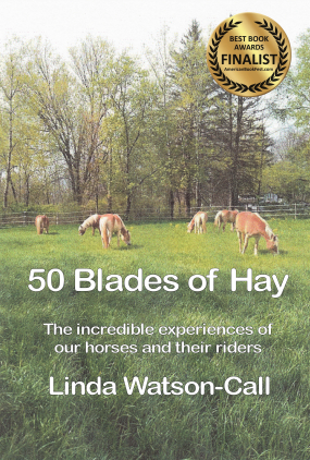 book cover - 50 blades of hay